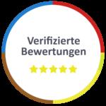 Verifizierte Kundenbewertungen